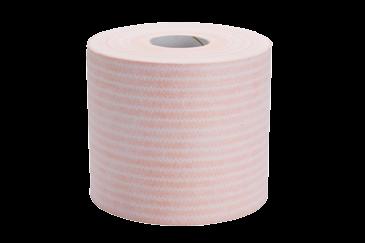Micro Roll Red & White Striped Disposable Microfibre Wiper