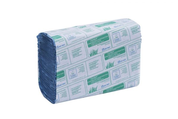 BAY WEST HAND TOWELS BLUE HANDS DRY DRYING CLEAN CLEANING