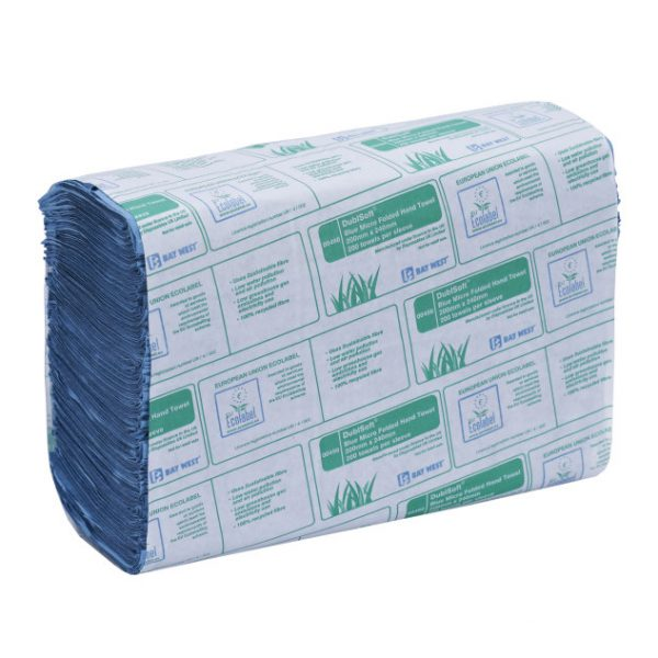 3000 Blue Hand Towels Bay West