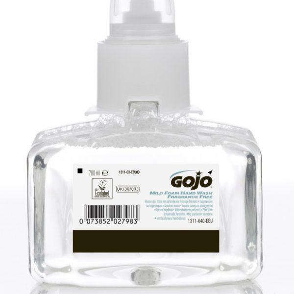 LTX-7 GOJO Mild Foam Hand Soap Fragrance Free 3 x 700ml