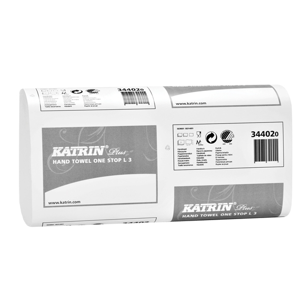 1890 x Katrin One Stop L3 Hand Towel 3 Ply