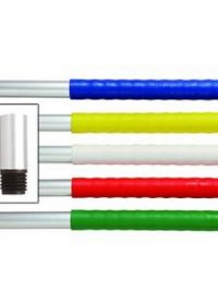 1195mm Aluminium Threaded Mop Handle with Coloured Grip