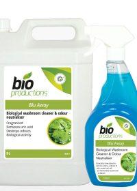 Bio Productions Blu-Away Bathroom Cleaner & Odour Neutraliser