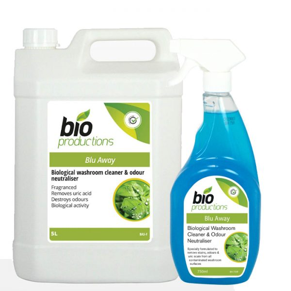 Bio Productions Blu-Away Bathroom Cleaner & Odour Neutraliser