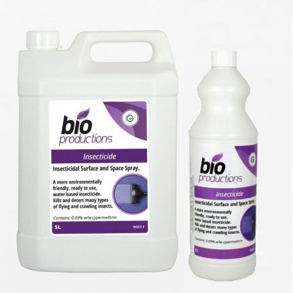 Bio Productions Insecticide Surface and Space Spray Liquid Chemical