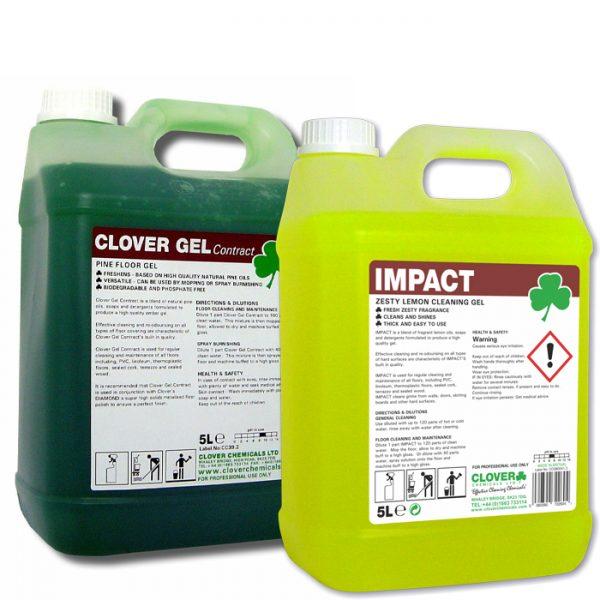 Clover Impact Cleaning Gel - Lemon or Pine