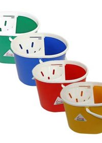Plastic Socket Mop Bucket with Handle & Sieve