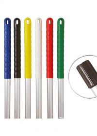 Exel® Aluminium Mop Handle with Colour-Coded Grip