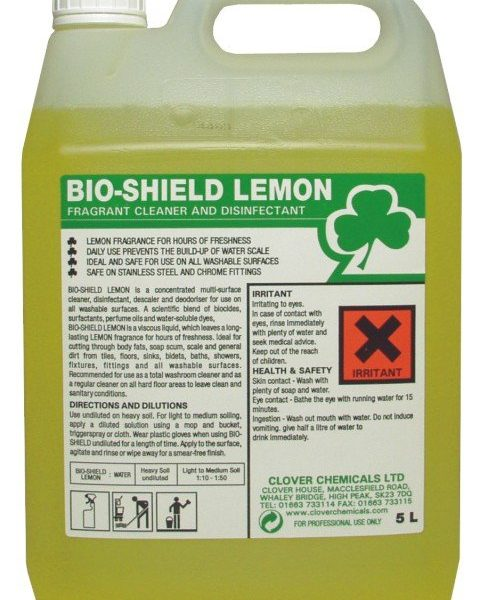 5L Bio-Shield Acidic Cleaner & Disinfectant