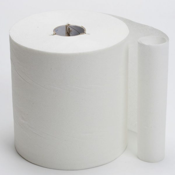 6 x Rolls Premsoft White Hand Towel