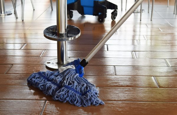 "SYR 17"" Midi Cotton Mop Head Blue-5570"