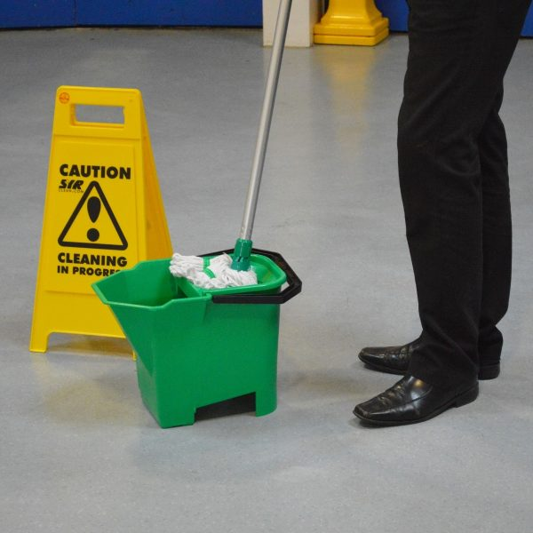 Stay Safe Using Cleaning Equipment