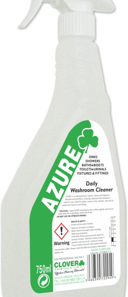 750ml Azure Daily Washroom Cleaner