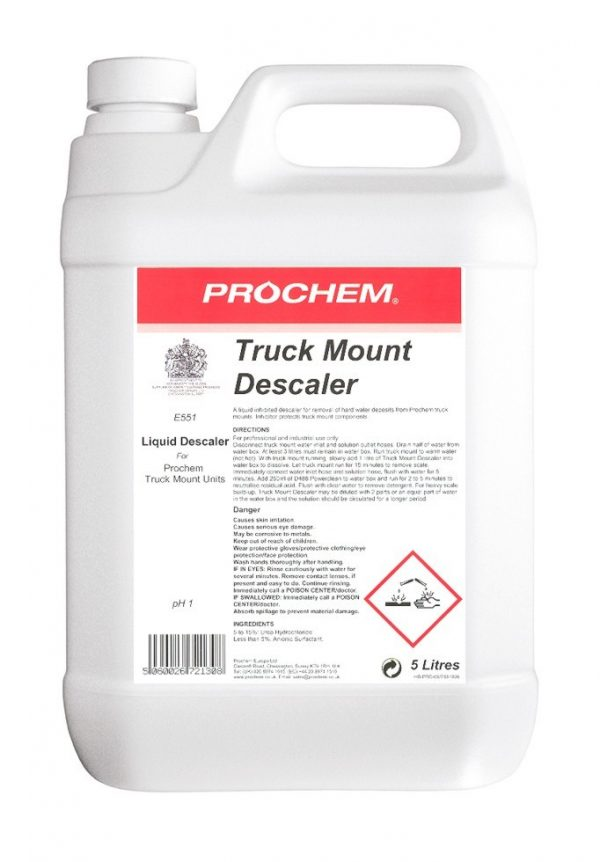 TRUCK MOUNT DESCALER PROCHEM