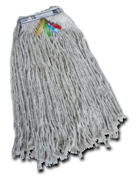 16oz Kentucky Mop Head - Twine or Thicker String