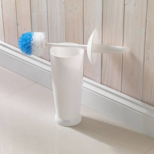 TOILET BRUSH BATHROOM WASHROOM CLEANER CLEANING