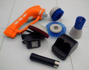 IVO POWER BRUSH LIGHT USER KIT SCRUBBER CLEANING CLEANER SCRUB