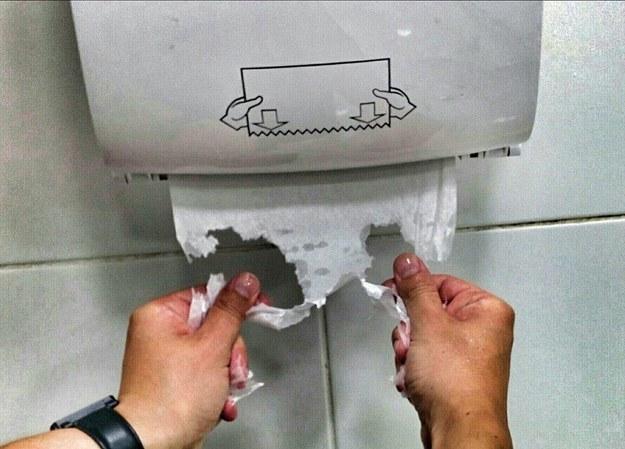 Broken Paper Towel