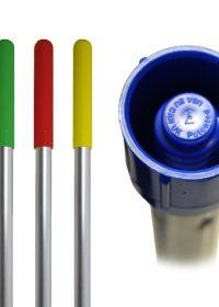 SYR Colour-Coded Aluminium Eco Interchange Mop Handle