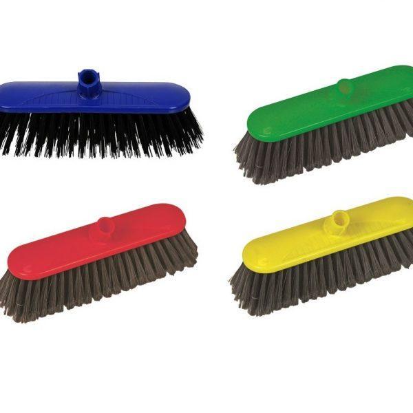 "10.5"" Soft Nylon Broom Head (No Handle)"