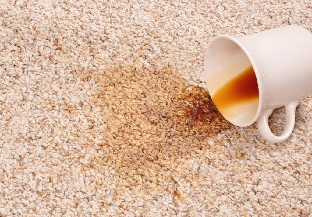 COFFEE CARPET STAIN