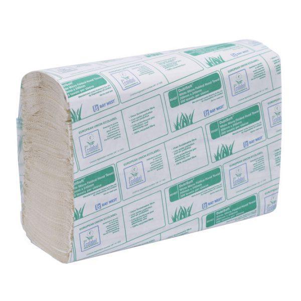 3000 White Dublsoft Micro Hand Towels