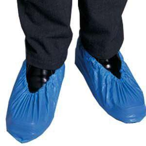 PPE OVERSHOES BLUE PROTECTIVE PERSONAL EQUIPMENT