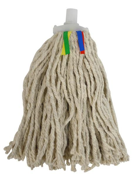 Cotton Pure Yarn Mop No.12 with Coloured Tags - fits Interchange Handle