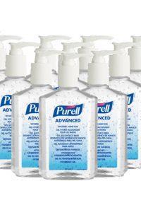 12 x 300ml Purell Hand Sanitiser Pump Bottle
