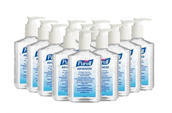 PURELL HAND SANITISER SOAP RUB WASH 350ML