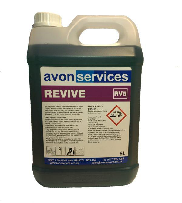 REVIVE CARPET CLEANER RV5 DETERGENT UPHOLSTERY