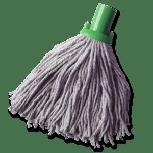 SOCKET MOP GREEN FLOOR CLEANING CLEAN HEAD