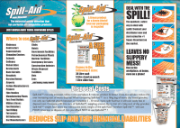 SPILL AID INFORMATION HOW TO USE INFOGRAPHIC