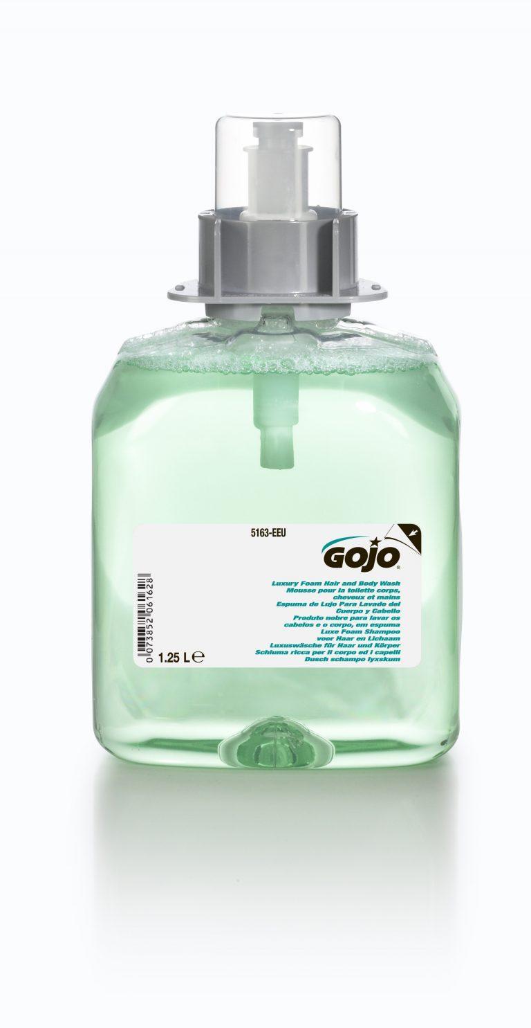 GOJO LUXURY FOAM HAIR AND BODY WASH