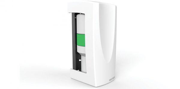 V-AIR SOLID NEW WHITE PLASTIC DISPENSER