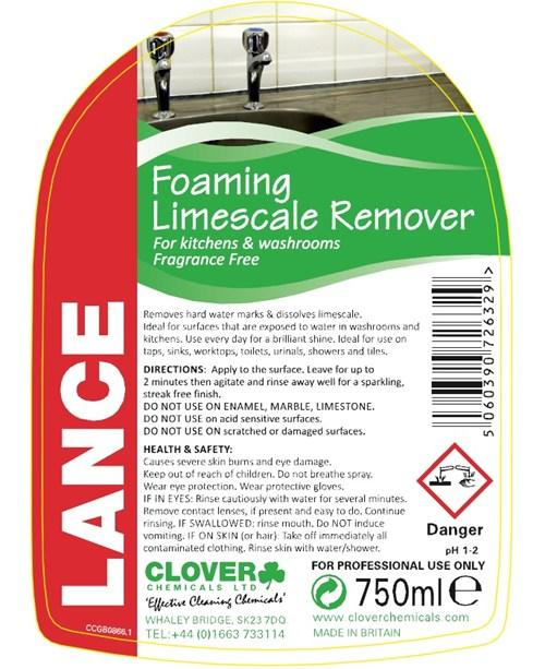 LANCE 750ml DESCALER TRIGGER SPRAY