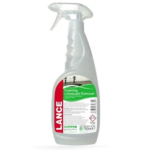 remove limescale with lance