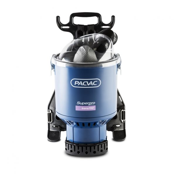 Superpro 700 Trans AIRCRAFT ONLY Pacvac Back Pack Vacuum Cleaner