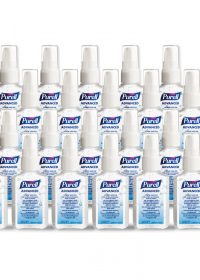 PURELL Hygienic Hand Rub, 60ml Personal Issue Flip Top (24 in a Case)