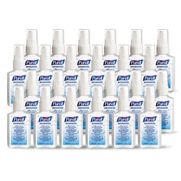 PURELL Hygienic Hand Rub, 60ml Personal Issue Spray Pump (24 in a Case)