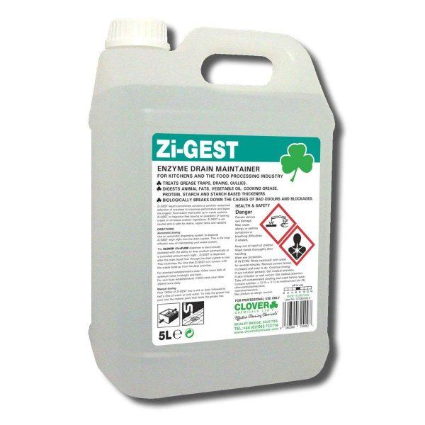 5L Zigest Enzyme Drain Maintainer