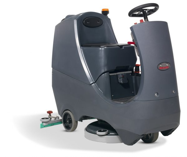 CRG 8055/120T Ride-on Battery Scrubber Dryer 80L Capacity 55cm Cleaning Width 3 Hr Run time