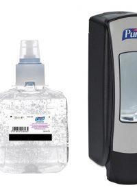Purell ADX-12 Advanced Hygienic Hand Rub 3x 1200ml with FREE Dispenser