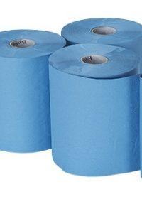 Bay West Roll Towel 1ply Blue 6  x 155m