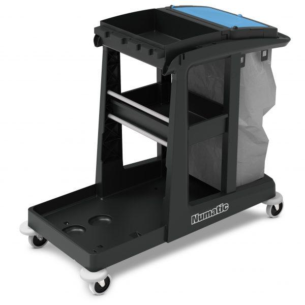Numatic ECO-Matic EM3 + EM5 Cleaning Trolleys