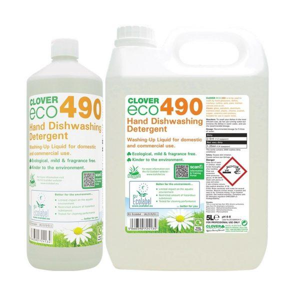 Clover Eco 490 Washing Up Liquid