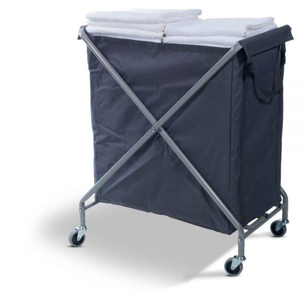 NX2401 Waste/Laundry Collection Folding Trolley 1 x 240L Bag