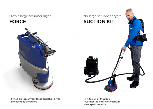 Motor Scrubber Suction kit - Fits on a Motorscrubber