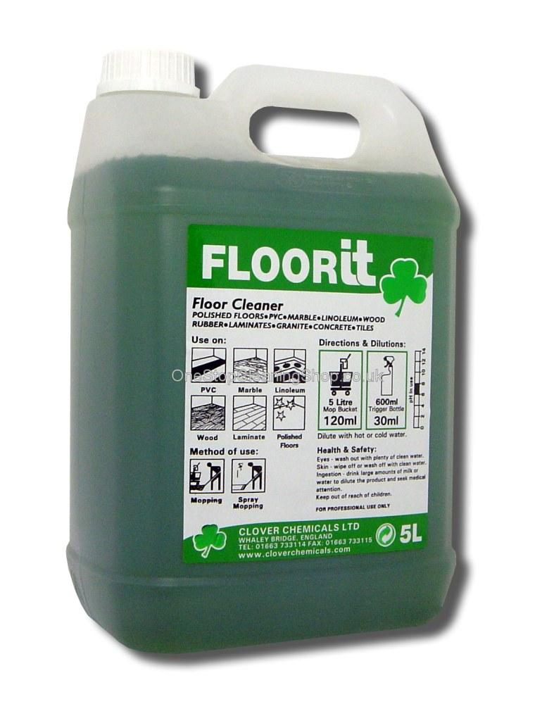 FLOORIT FLOOR IT CLOVER CHEMICAL CLEANING CLEAN