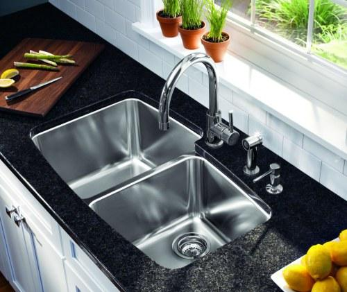 STAINLESS STEEL SINK HOW TO CLEAN